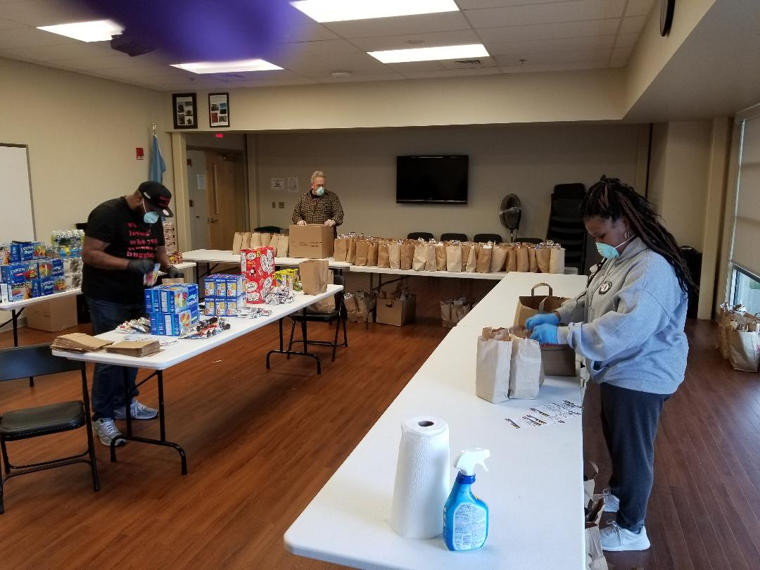 SACRJ Thanks Volunteers, Donors, and Partners for Five Weeks of Food Program Support