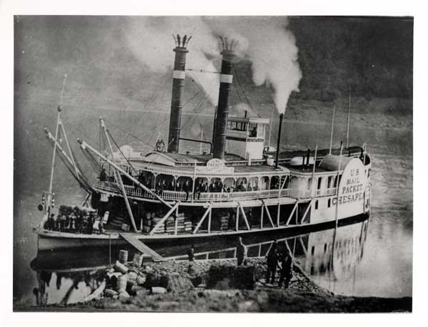 This Week's Kent History Quiz Answer: The Steamboat Chesapeake