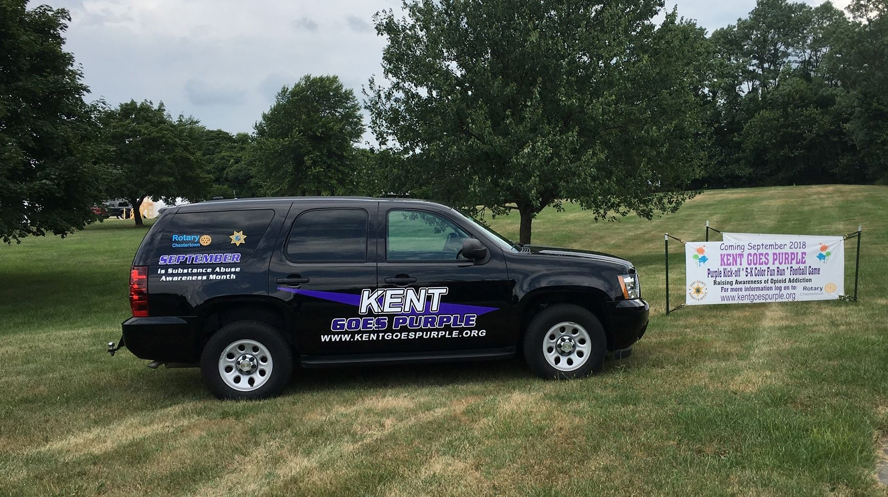 Stand Up Against Substance Abuse This September, 'Go Purple' With Kent Goes Purple