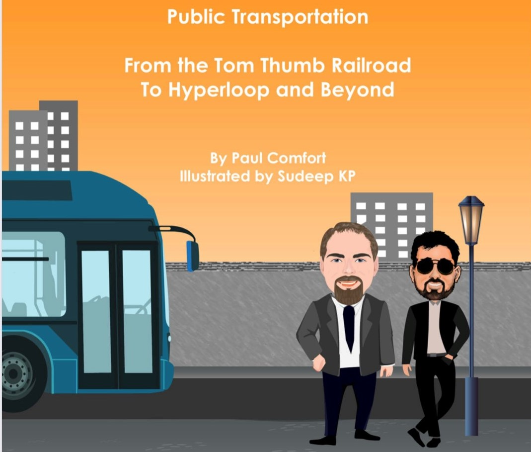 Paul Comfort's Latest Book Youth-oriented Exploration of Past And Future Of Transportation