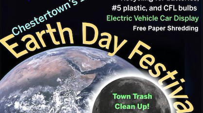 Chestertown's Earth Day Festival Set for April 24