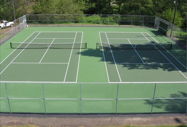 Tennis Courts at Round Top Park to Close for Maintenance