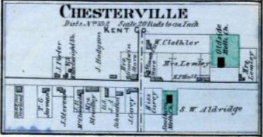 Last Week's Kent County History Quiz Answer: Chesterville