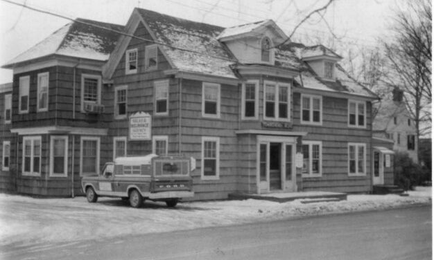 Kent County History Quiz Answer: Corner of Spring Avenue and Park Row